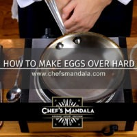 HOW TO MAKE OVER HARD EGGS