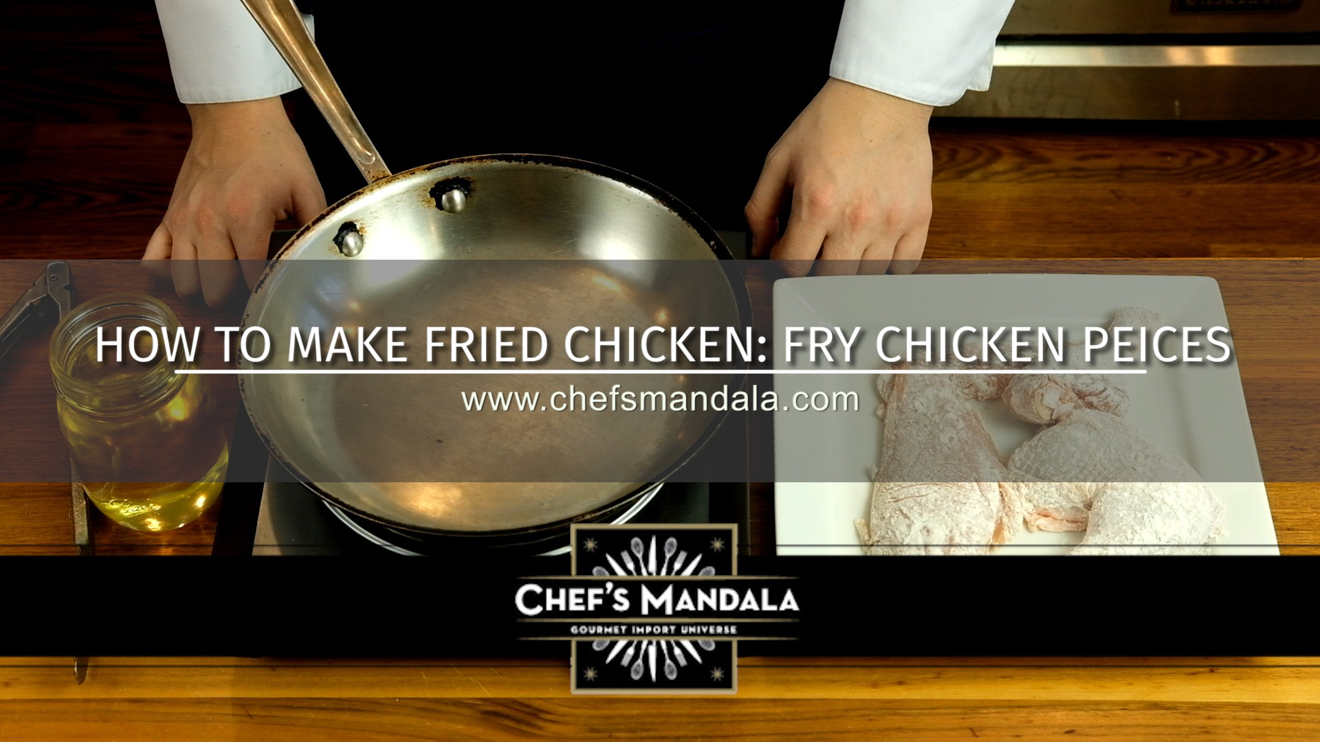 HOW TO FRY CHICKEN PIECES