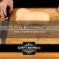 Lesson 10 – How to Peel Butternut Squash