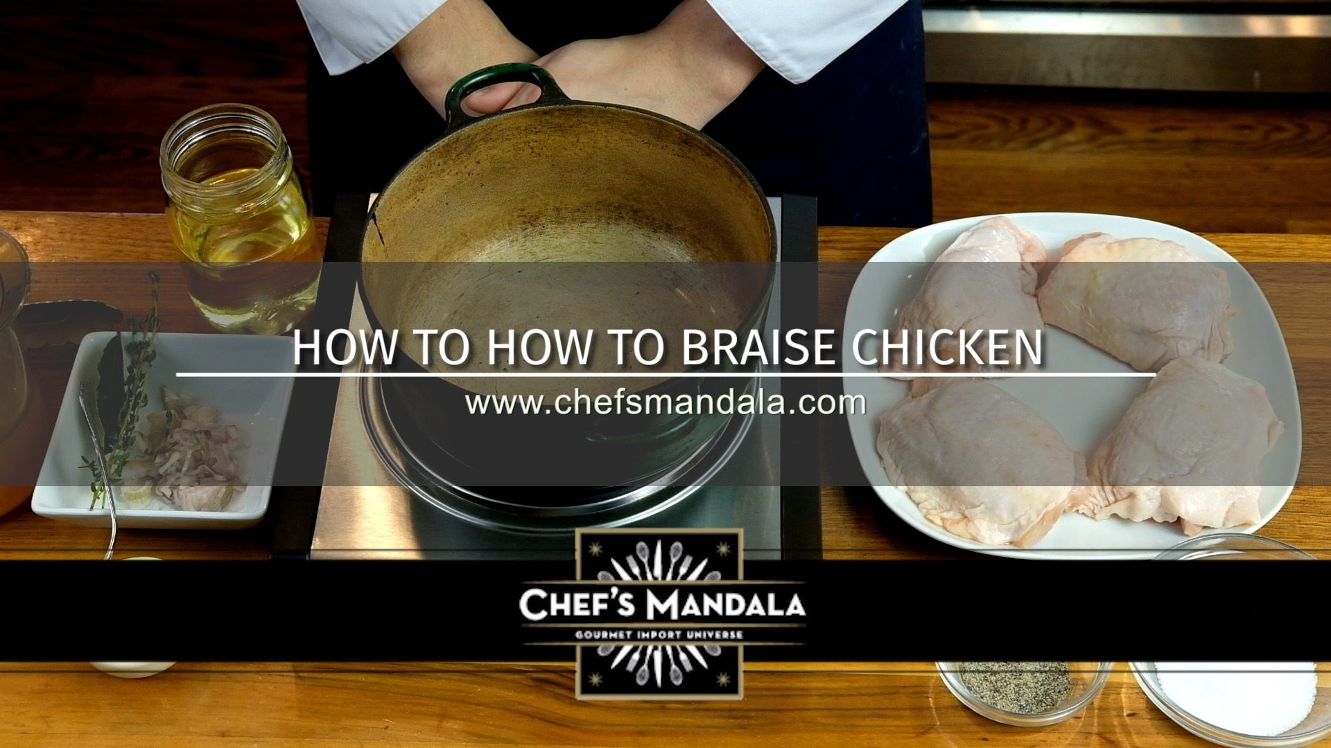 HOW TO BRAISE CHICKEN