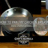 HOW TO PAN FRY CHICKEN BREAST