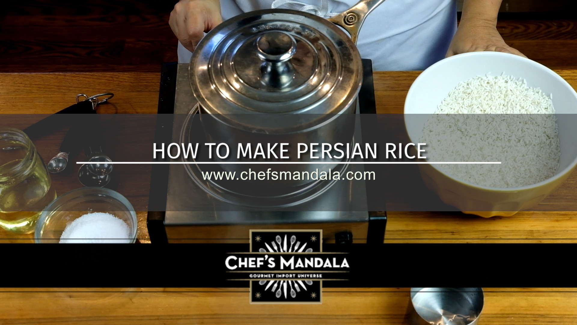 HOW TO MAKE PERSIAN RICE