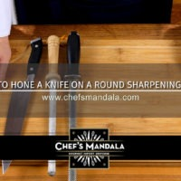 Lesson 11 – How to Sharpen a Knife on Round Steel