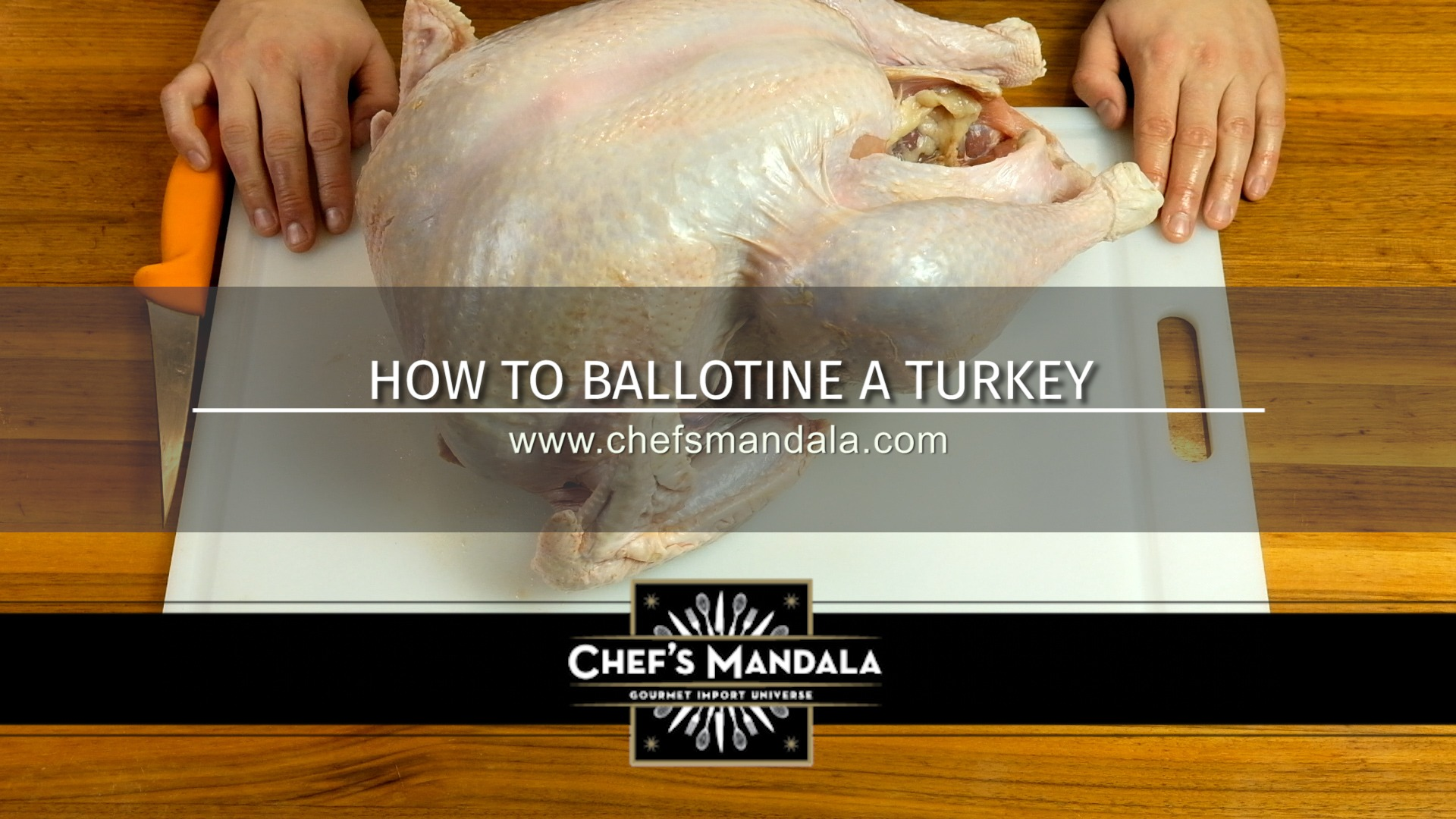 How to ballotine a turkey
