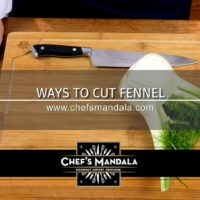 WAYS TO CUT FENNEL