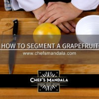 HOW TO CUT A GRAPEFRUIT