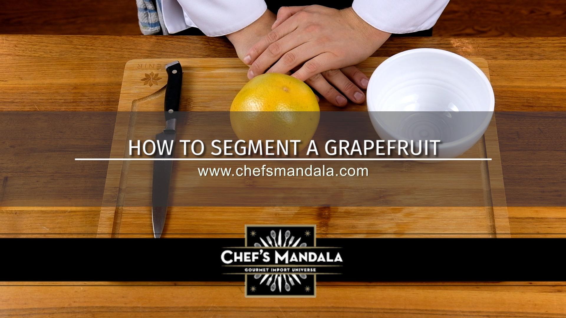 HOW TO CUT A GRAPEFRUIT