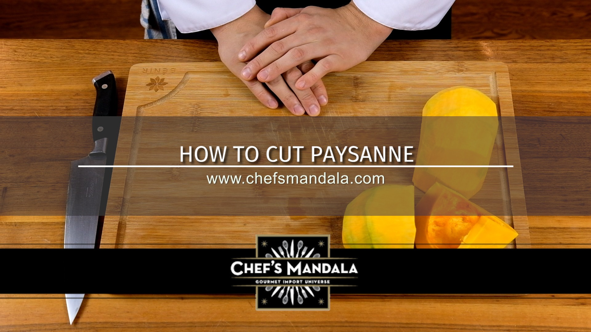 HOW TO CUT PAYSANNE