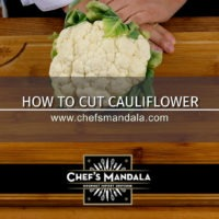 HOW TO CUT CAULIFLOWER
