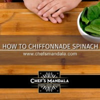Lesson 74 – How to Chiffonade Spinach