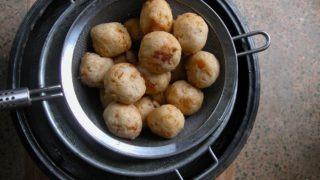 African yam balls