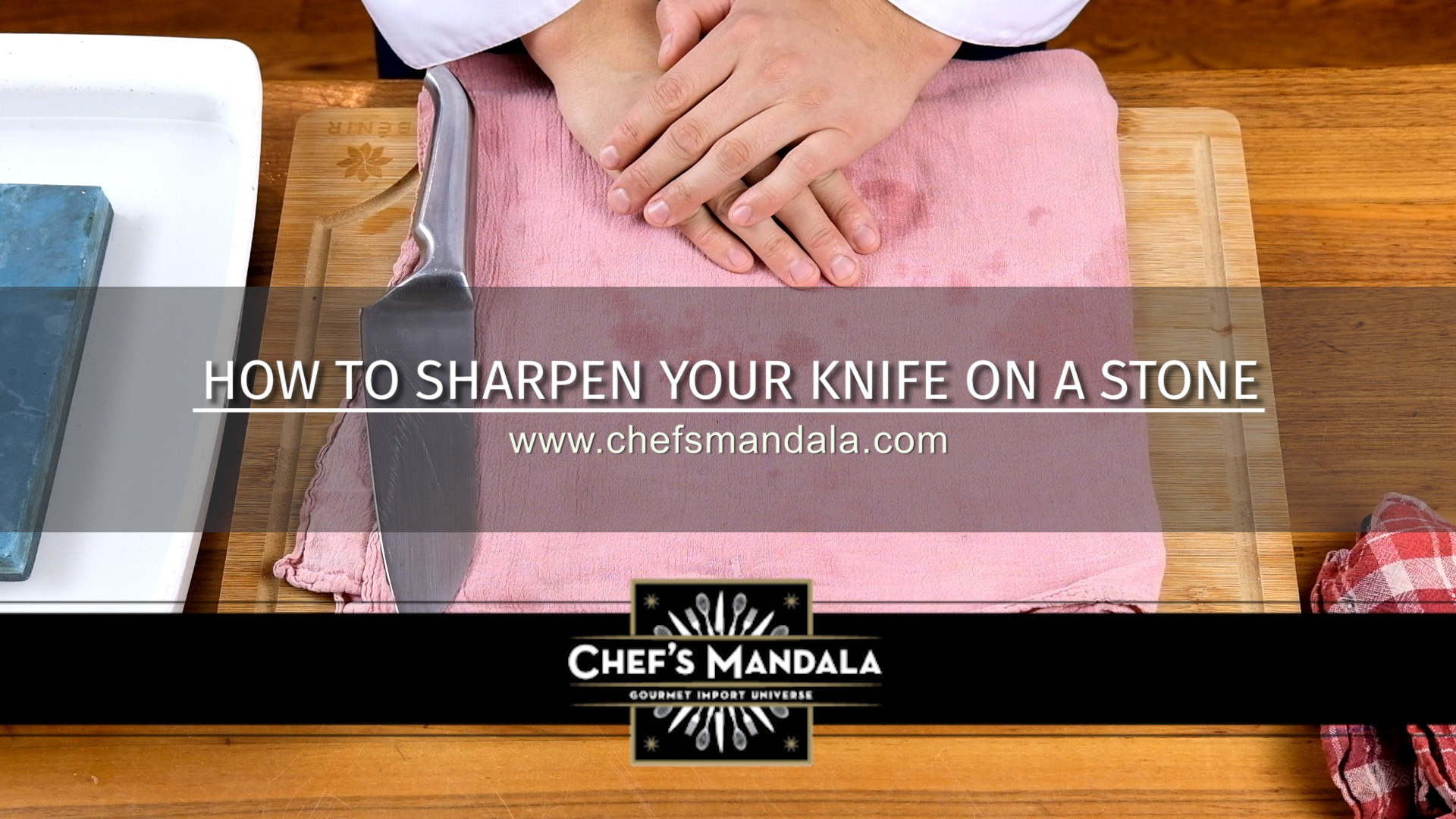 HOW TO SHARPEN YOUR KNIFE ON A STONE