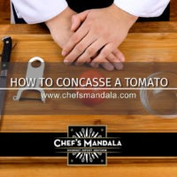 Lesson 85 – How to Concasser a Tomato