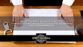 HOW TO PEEL ROASTED BEETS