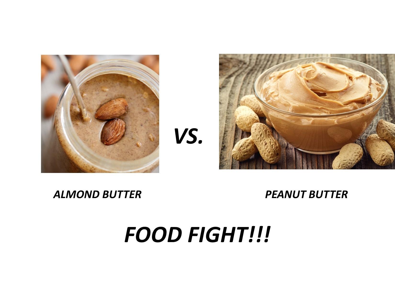 Almond vs Peanut