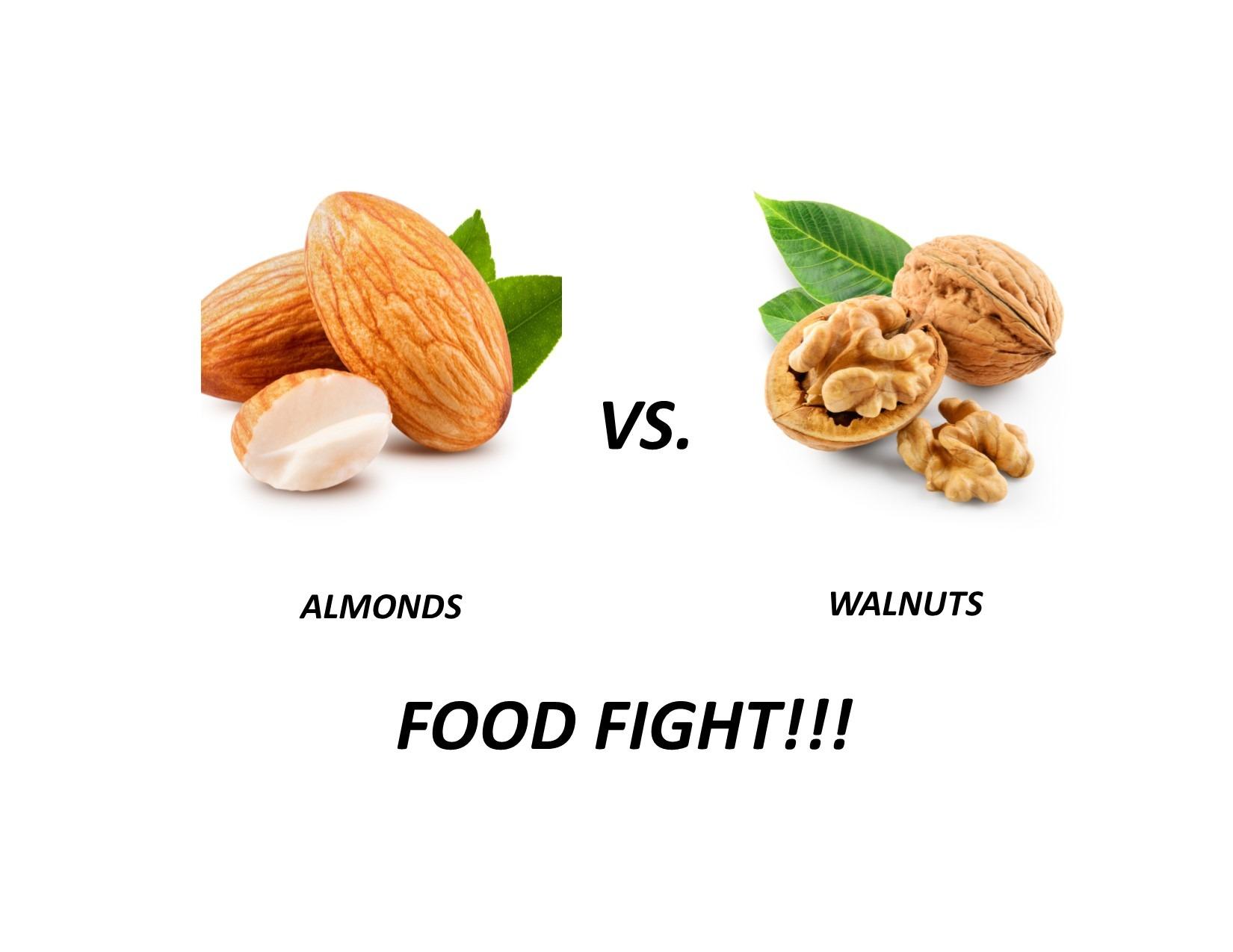 Almonds vs Walnut