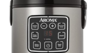 aroma, rice cooker, digital, steam vegetable