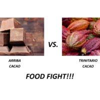 Arriba vs Trinitario Cacao
