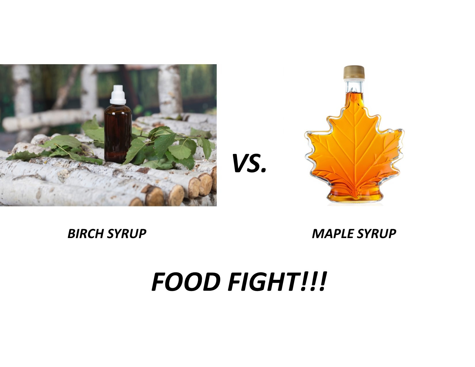 Birch vs Maple Syrup