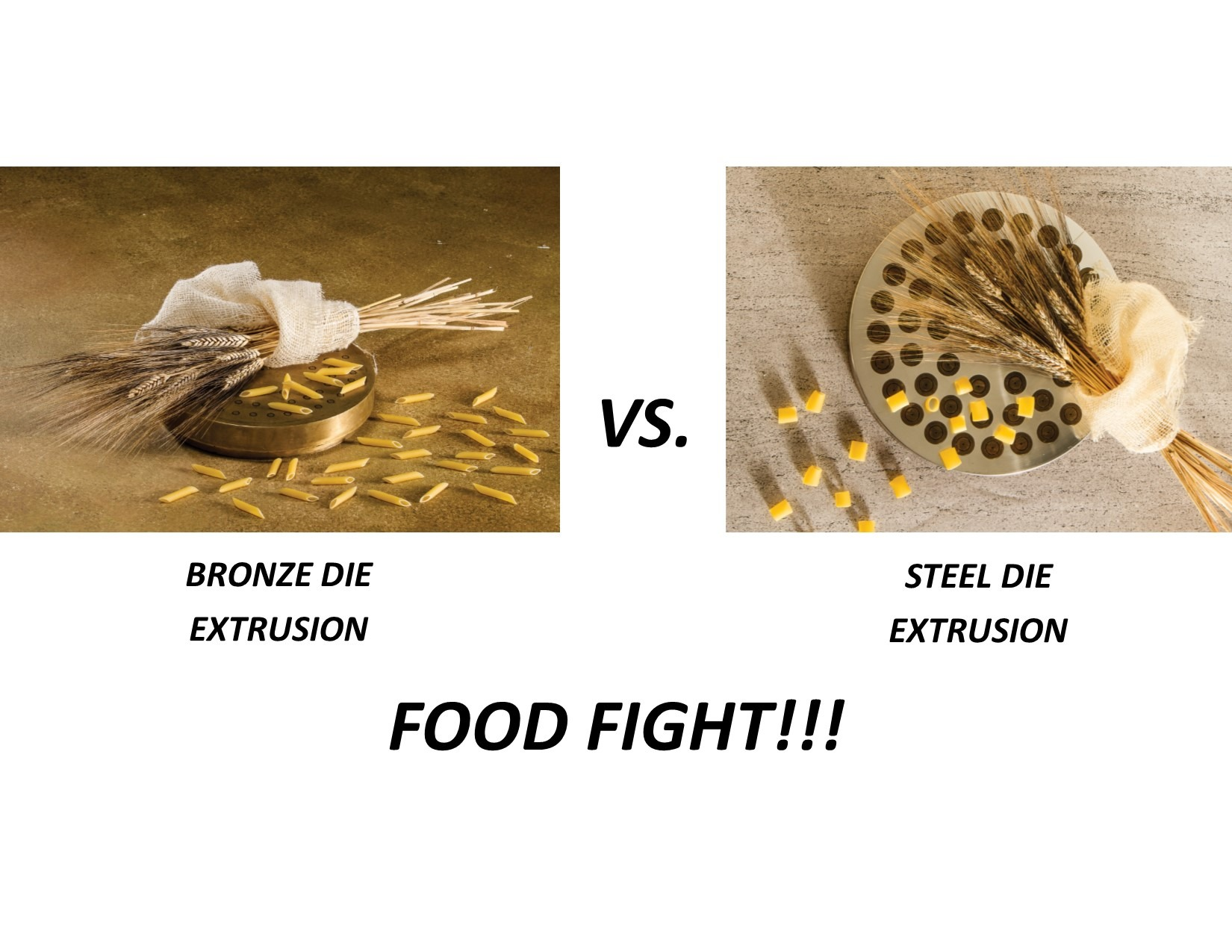 Bronze vs Steel Die
