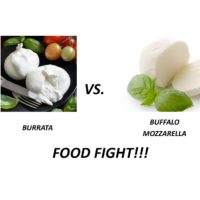 Burrata vs Mozzarella