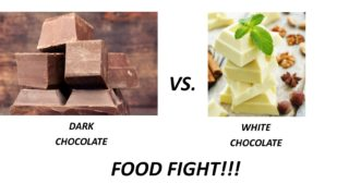 Dark vs White Chocolate