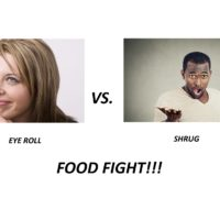 Eye Roll vs Shrug
