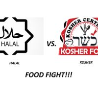FOOD FIGHT!! GOD SAID SO – Halal vs. Kosher
