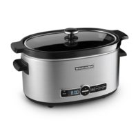 KITCHENAID SLOW COOKER (6 QUARTS)