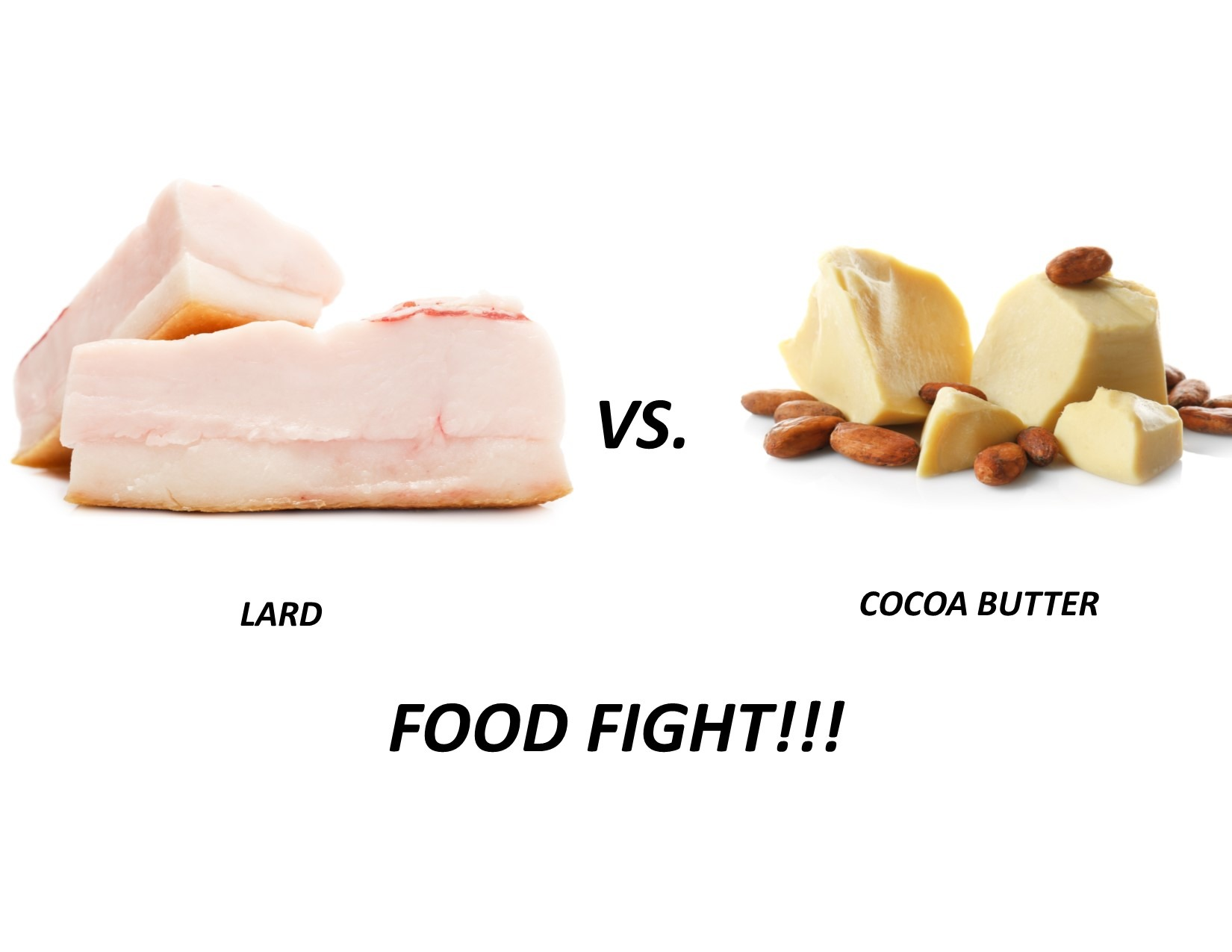 Lard vs Cocoa Butter