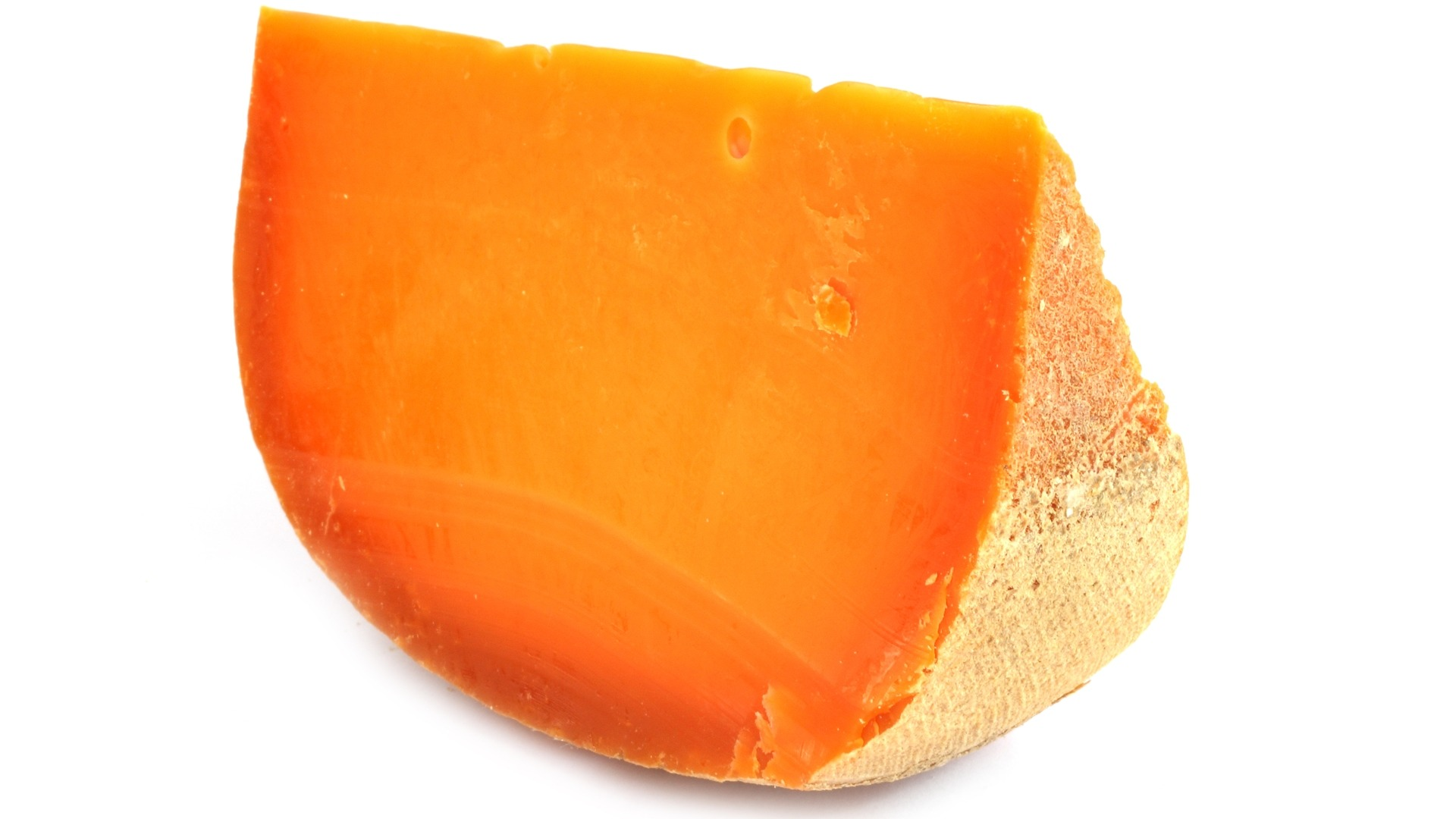 mimolette, French, hard cheese, cantaloupe cheese