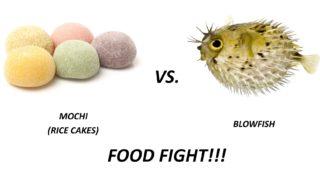 Mochi vs Blowfish