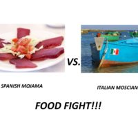 FOOD FIGHT!! PROSCIUTTO OF THE SEA – Spain vs. Italy