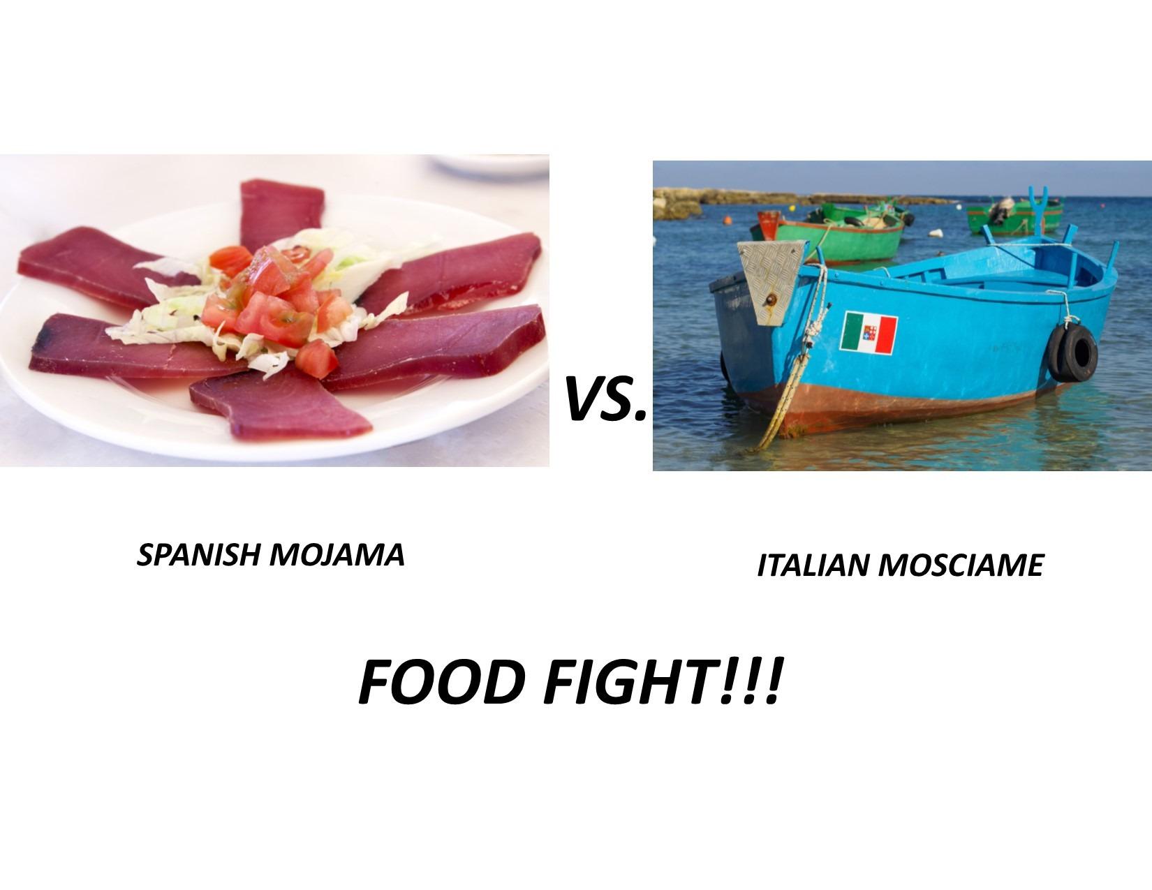 Mojama vs Mosciame