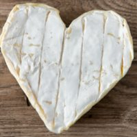 neufchatel, french, cheese, heart