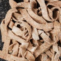 Homemade Alpine Buckwheat Pasta (Pizzocheri)