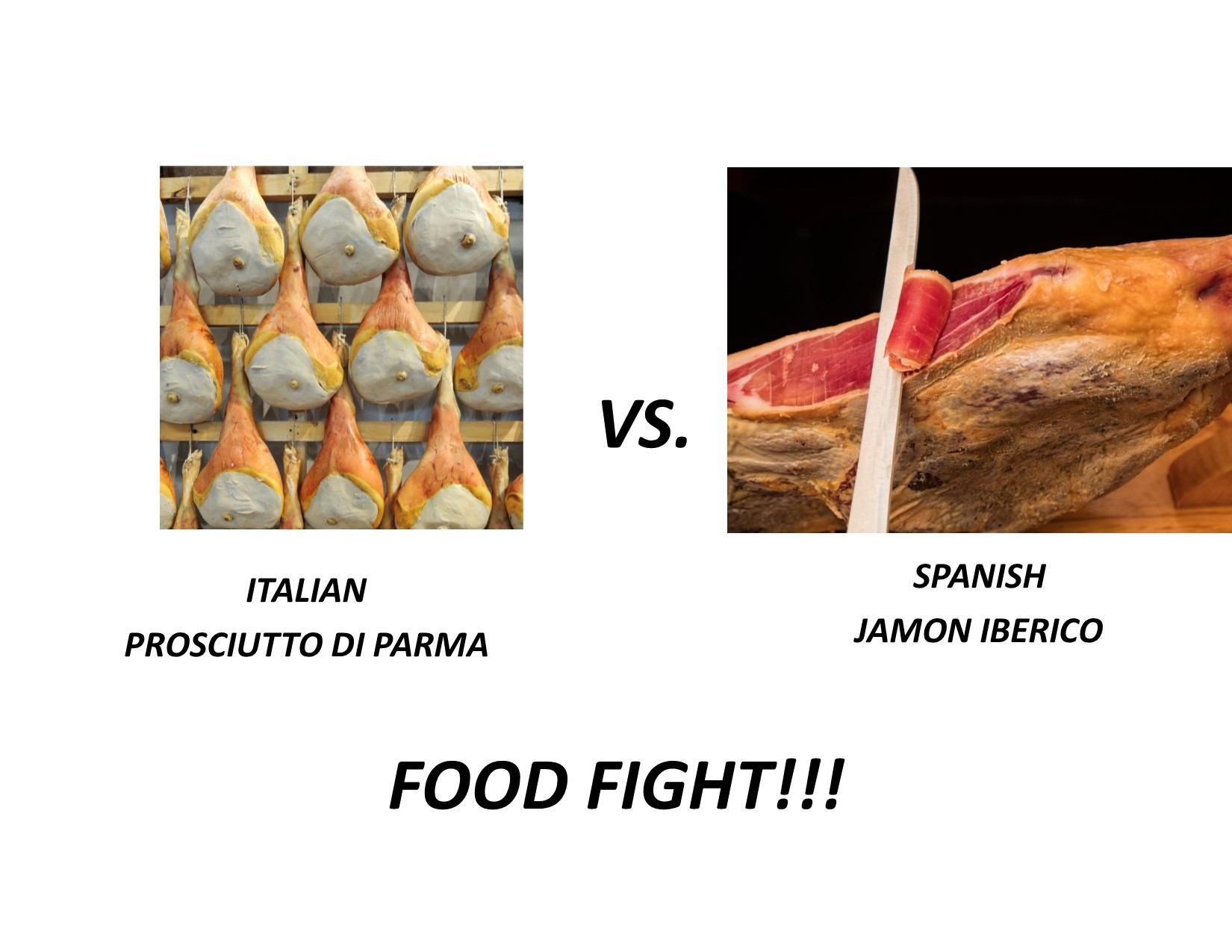 Prosciutto vs Jamon Iberico