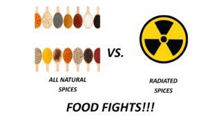 Radiated vs Non Radiated Spices