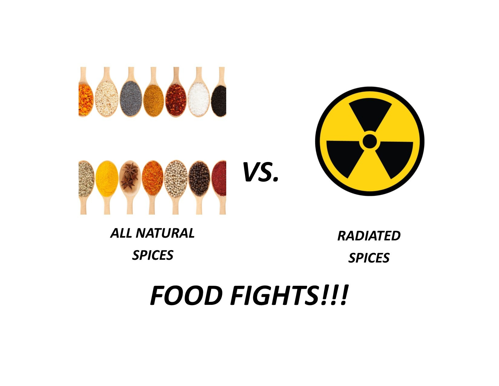 Radiated vs Non Radiated Spices