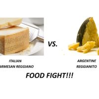 FOOD FIGHT!! CHEESE – Italy vs. Argentina