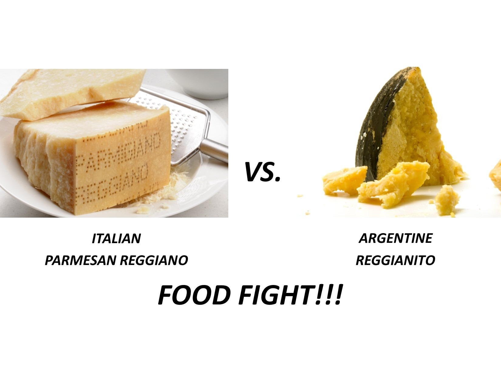 Reggiano vs Reggianito