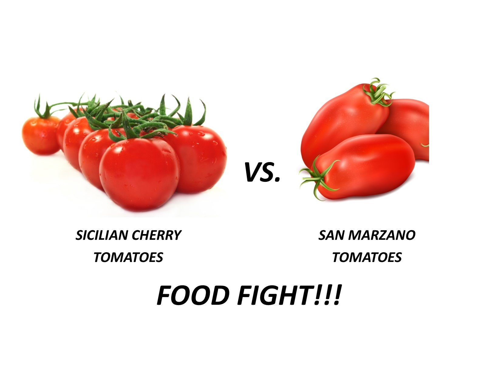San Marzano vs Cherry Tomatoes