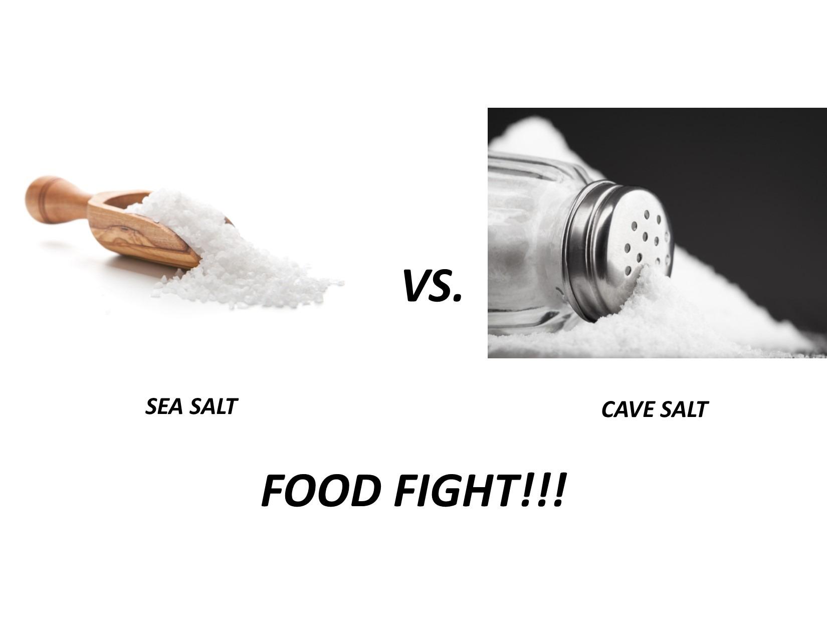 Sea vs Cave Salt