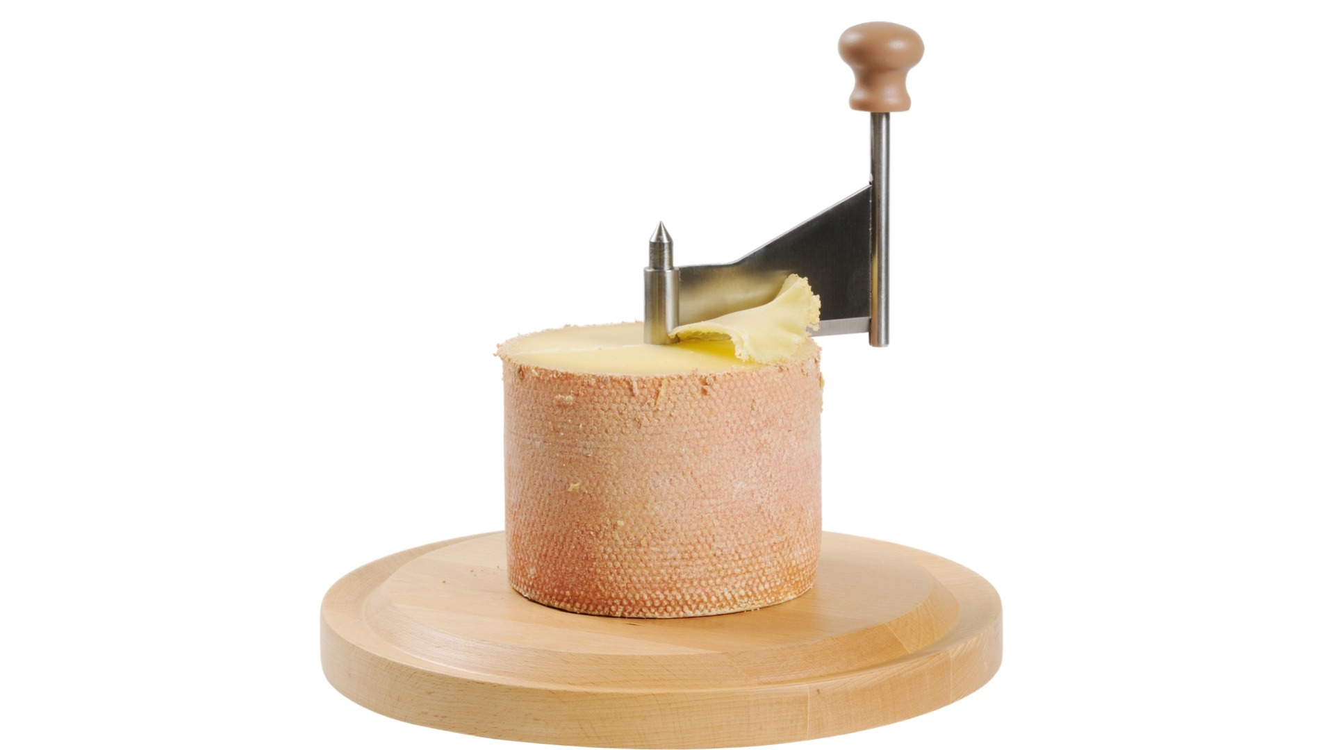tete de moine, swiss, cheese, spin, monk head