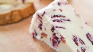 Wensleydale, English, cheese, fruit, additive