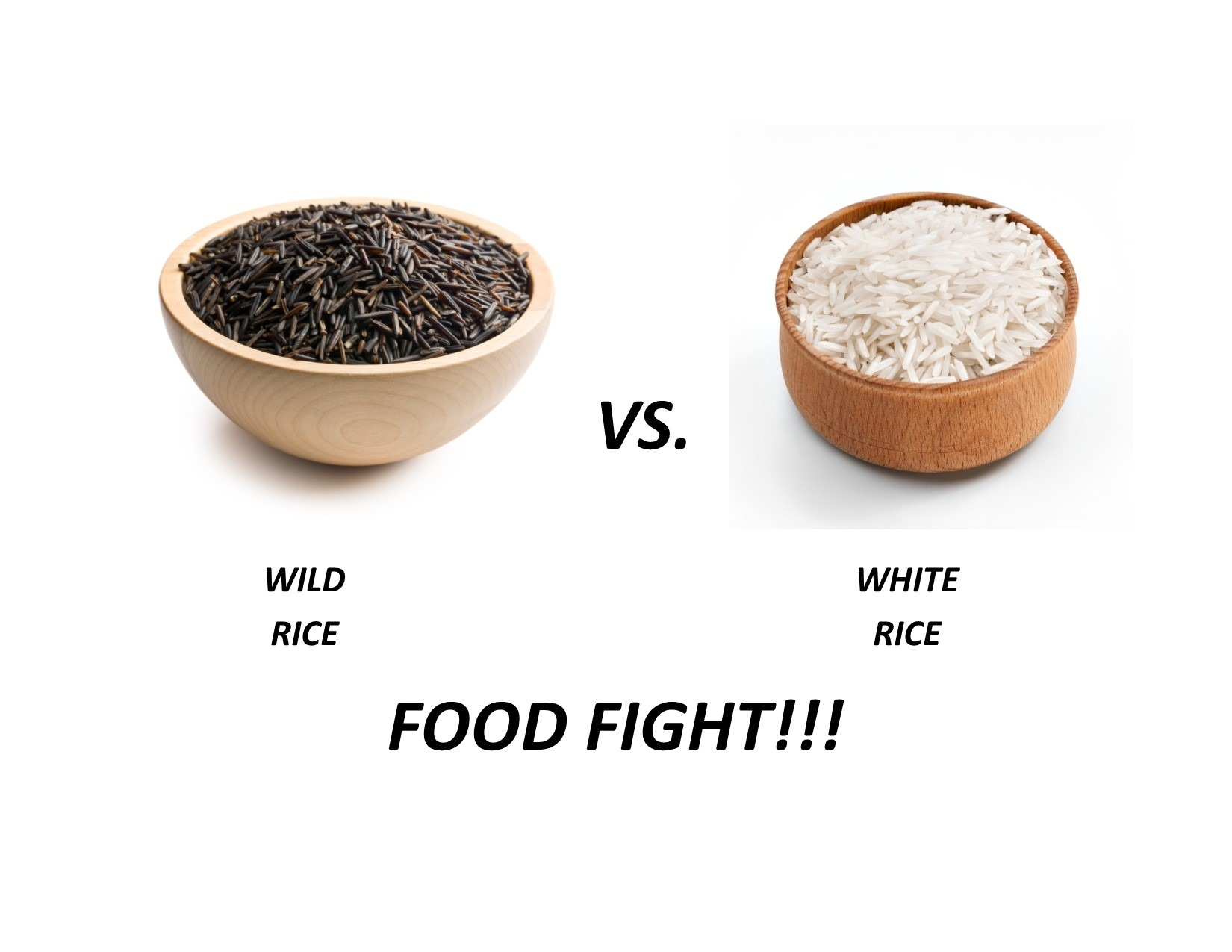 Wild vs White Rice