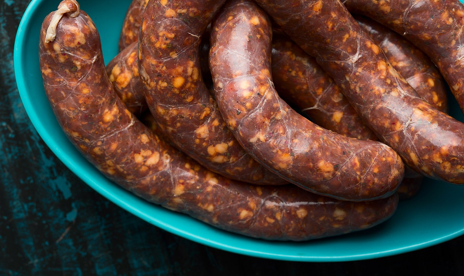 sausage, spicy