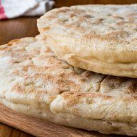 bazlama, flat bread