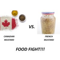 FOOD FIGHT!! MUSTARD – Canada vs. France