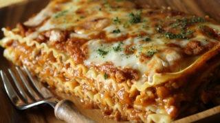 classic lasagna, meat, Italian, pasta